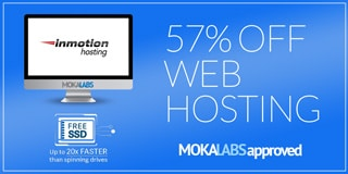Inmotion Hosting via Moka Labs - 57% Off
